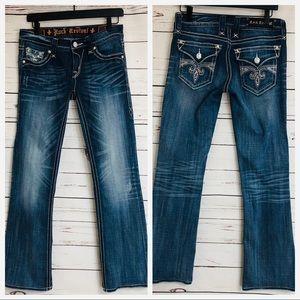 Rock Revival Boot Cut Jeans Size 27